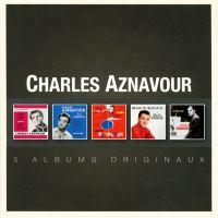Charles Aznavour - 5 Albums Originaux - 5CD