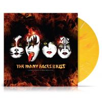 Kiss - The Many Faces Of - Coloured Vinyl - 2LP