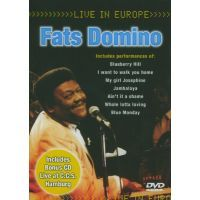 Fats Domino - Live In Europe - DVD+CD