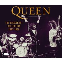 Queen - The Broadcast Collection 1977-1986 - 5CD