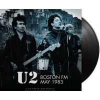 U2 - Boston FM May 1983 - LP