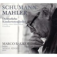 Marco Bakker - Schumann / Mahler - CD