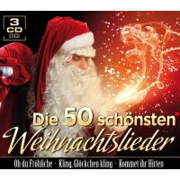 Die 50 Schonsten Weihnachtslieder - 3CD