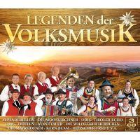 Legenden der Volksmusik - 3CD