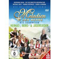 Melodien der Berge - Die Schonsten Heimat, Berg & Jagerlieder - 3DVD