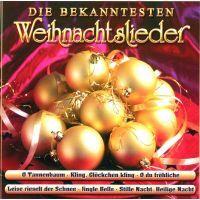Die Bekanntesten Weihnachtslieder - CD