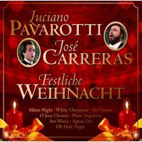 Luciano Pavarotti & Jose Carreras - Festliche Weihnacht - CD