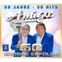 Amigos - 50 Jahre - 50 Hits - 50 Grosse Erfolge - 3CD