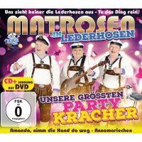 Matrosen In Lederhosen - Unsere Grossten Partykracher - CD+DVD