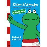Kikker & Vriendjes - Bekend van TV - 3DVD