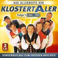 Klostertaler - Das Allerbeste Der - Folge 1 - 1980 - 1991 - 2CD