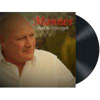 Mannes - Sluit Ik Mijn Ogen - Vinyl Single