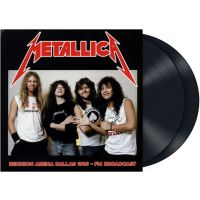 Metallica - Reunion Arena Dallas 1989 - FM Broadcast - 2LP