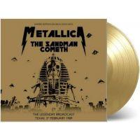 Metallica - The Sandman Cometh - Limited Gold Vinyl - LP+Boek