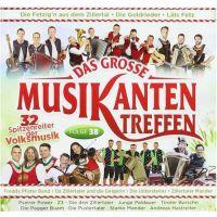 Das Grosse Musikanten Treffen - Folge 38 - CD