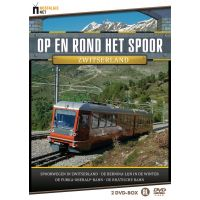 Op En Rond Het Spoor - Zwitserland - Documentaire - 2DVD