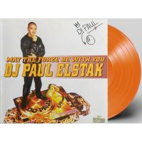 Paul Elstak - May The Forze Be With You - Solid Orange Coloured Vinyl - LP