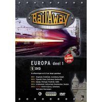 Rail Away - Europa - Deel 1 - 5DVD