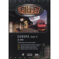 Rail Away - Europa - Deel 2 - 4DVD