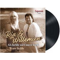 Ria & Willemien - Als Liefde Niet Meer Leeft // Ware Liefde - Vinyl Single