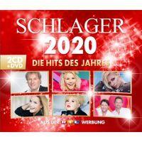 Schlager 2020 - Die Hits Des Jahres - 2CD+DVD