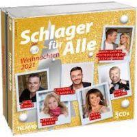 Schlager Fur Alle - Weihnachten 2021 - 3CD