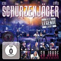 Schurzenjager - Die Legende Lebt - 50 Jahre Rebellion In Den Alpen - CD+DVD