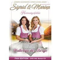 Sigrid & Marina - Halleluja Der Berge - Fan Edition - DVD+CD