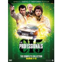 The Professionals - The Complete Collection Serie 1-5 - 17DVD