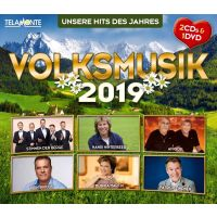 Volksmusik 2019 - 2CD+DVD