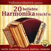 Volksmusikanten Spielen 20 Beliebte Harmonika Stückl'n - CD