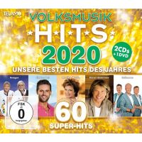 Volksmusik Hits 2020 - 2CD+DVD