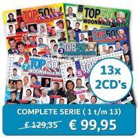 Woonwagenhits Top 50 - Complete Serie (Deel 1 t/m 13) - 26CD