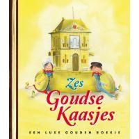 Zes Gouden Kaasjes - Een Luxe Gouden Boekje - BOEK