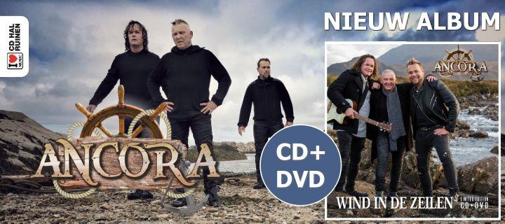 Ancora - Wind in de zeilen - CD+DVD