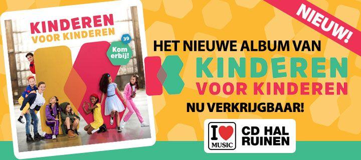 Het nieuwe album Kinderen voor Kinderen verkrijgbaar vanaf 21-09-2018!