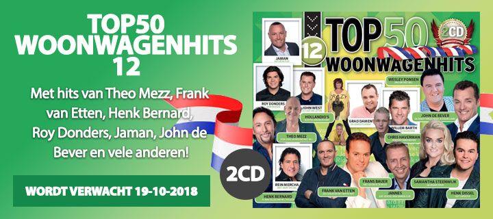 Woonwagenhits Top 50 - Deel 12 - 2CD