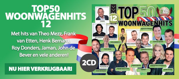 Woonwagenhits Top 50 - Deel 12 - 2CD
